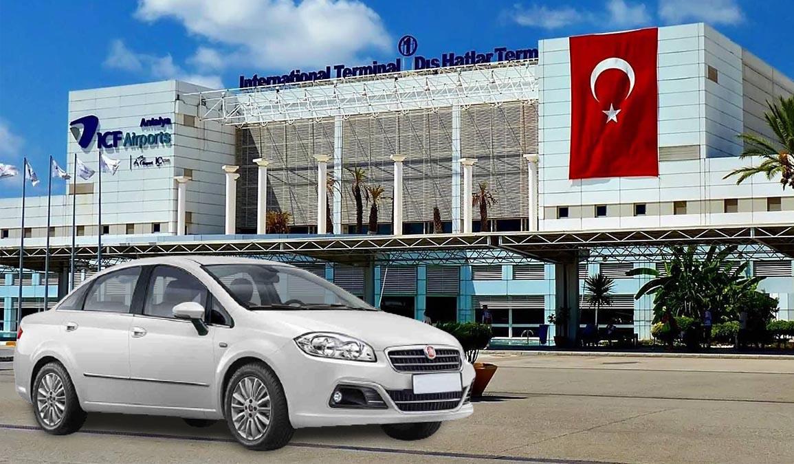 Antalya Havalimanı ucuz araç kiralama